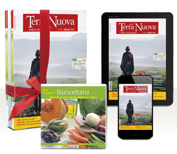 Una rivista di ecologia, decrescita, vita biologica: abbonamento