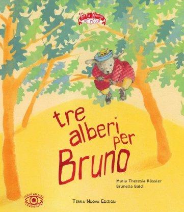 Copertina del libro Tre alberi per Bruno