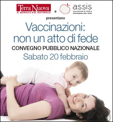 Convegno Vaccinazioni: non un atto di fede. POSTI ESAURITI!